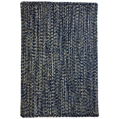 Team Spirit Navy Gold Braided Rugs