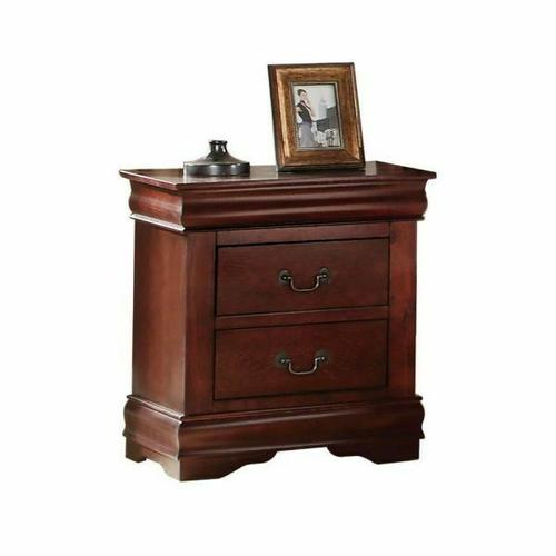 ACME Louis Philippe Nightstand - 23753 - Cherry