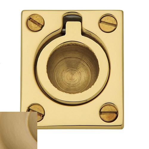 Baldwin - Vintage Brass Flush Ring Pull