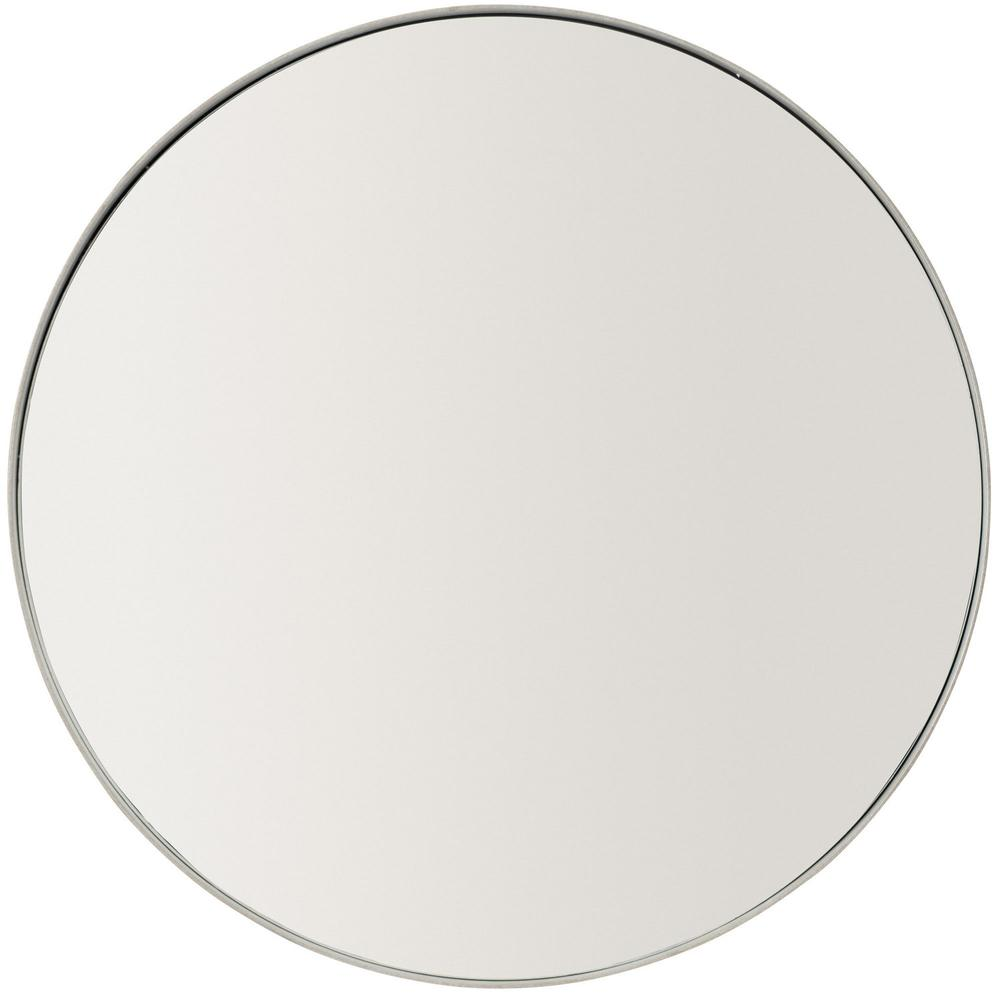 Oakley Round Metal Mirror in Gray Mist