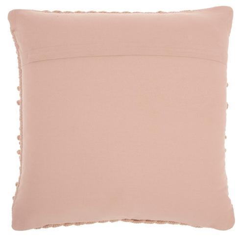 """Life Styles Gc102 Blush 18"""" X 18"""" Throw Pillow"""