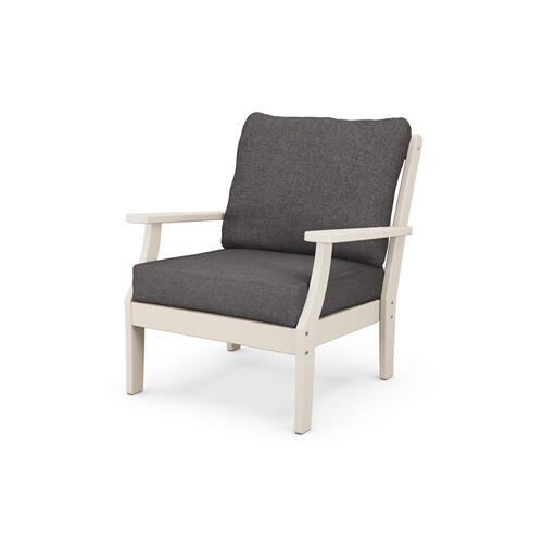 Sand & Ash Charcoal Braxton Deep Seating Chair
