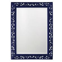 View Product - Bristol Mirror - Glossy Navy