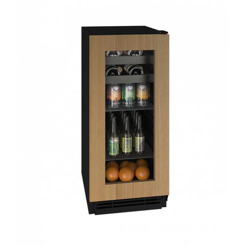 """U-Line - Hbv115 15"""" Beverage Center With Integrated Frame Finish (115v/60 Hz Volts /60 Hz Hz)"""