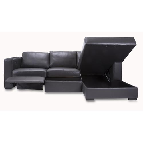 M3903P LHF Power Loveseat-with drawer