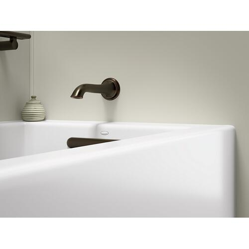 "Dune 60"" X 30"" Alcove Bath With Integral Apron, Integral Flange and Right-hand Drain"