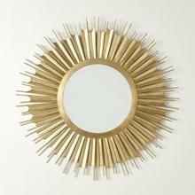 See Details - Necklace Mirror-Gold Leaf
