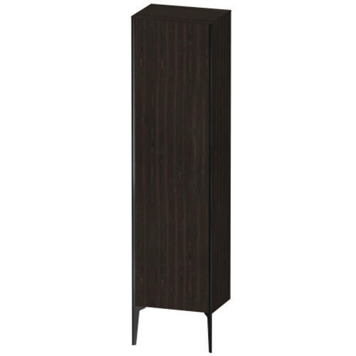 Tall Cabinet Floorstanding, Brushed Walnut (real Wood Veneer)