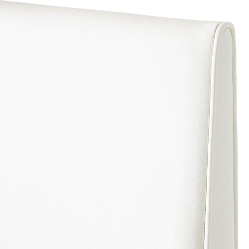 Amini - Barstool Glossy White