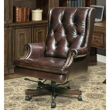 DC#112-HA - DESK CHAIR Leather Desk Chair