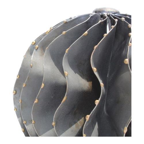 Iron Orb Black Marble