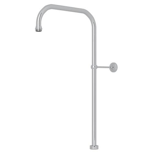 "Polished Chrome Perrin & Rowe 63"" X 15"" Rigid Riser Shower Outlet"