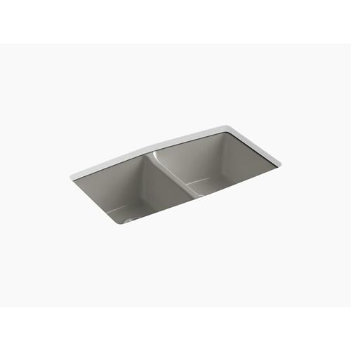 "Cashmere 33"" X 22"" X 9-5/8"" Undermount Double-equal Kitchen Sink"