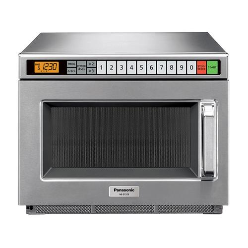 2100 Watt Compact Commercial Microwave Oven with 60 Programmable Memory Pads NE-21523