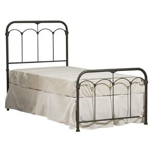 Jocelyn Bed Kit With Frame - Twin - Black Speckle