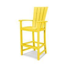 View Product - Quattro Adirondack Bar Chair in Lemon