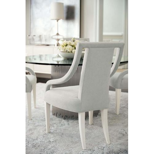 Calista Arm Chair in Silken Pearl (388)