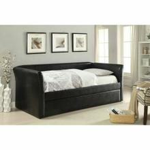 ACME Misthill Daybed & Trundle - 39145 - Black PU