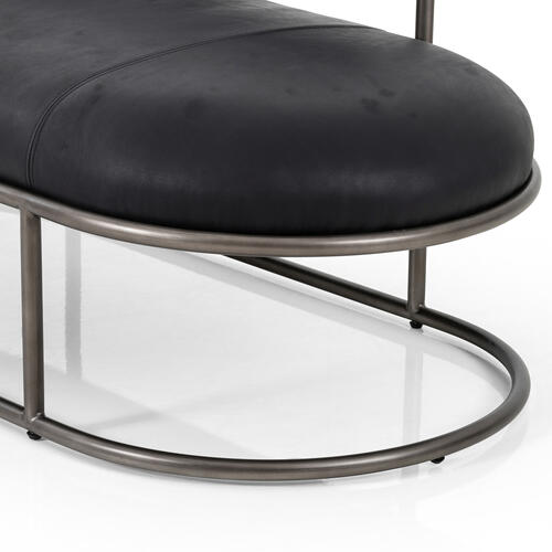 Harness Black Cover Bettie Chaise