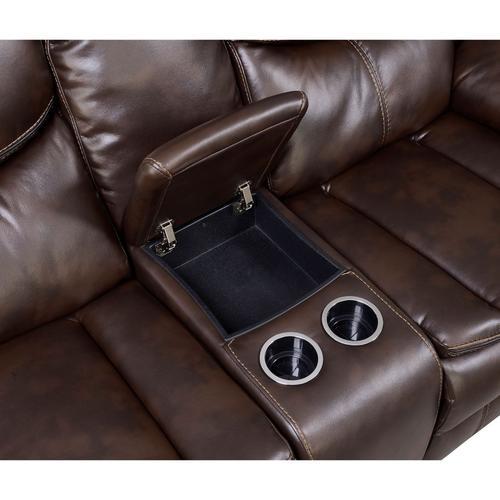 Pollux Love Seat w/ Console