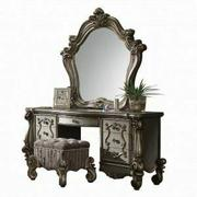 ACME Versailles Vanity Desk - 26847 - Antique Platinum Product Image