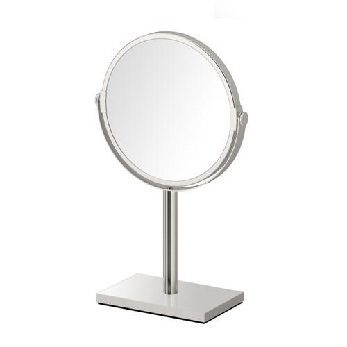 Table Mirror #2 in Satin Nickel