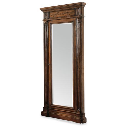 Hooker Furniture - Floor Mirror w/Jewelry Armoire Storage