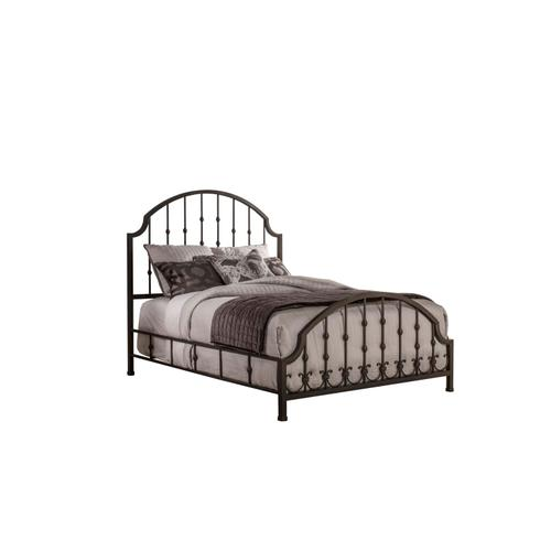 Westgate Side Rail - Queen - Rustic Black
