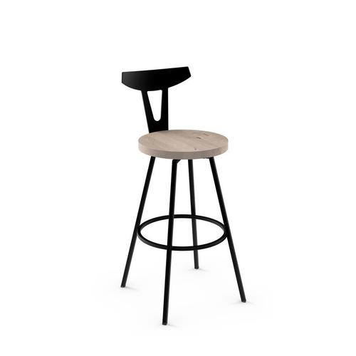 Hans Swivel Stool (wood)