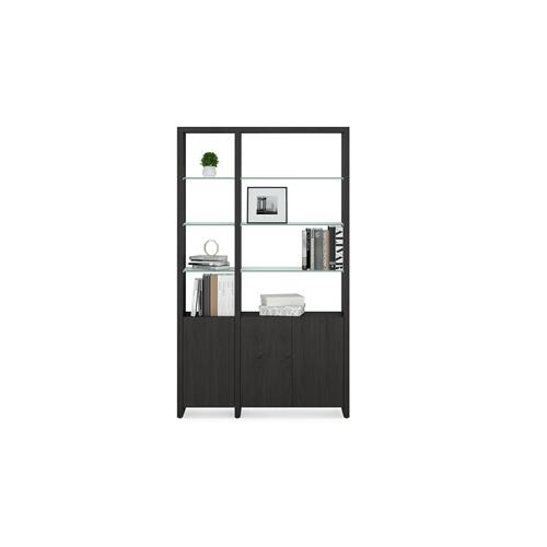 BDI Furniture - Linea Shelves 5801 Single Shelf in Charcoal Stained Ash