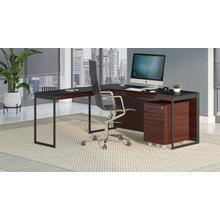 See Details - Sequel 20 6107 Mobile File Cabinet in Chocolate Stained Walnut