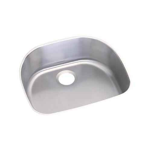 "Elkay Stainless Steel 23-1/2"" x 21-1/8"" x 9"", Single Bowl Undermount Sink"