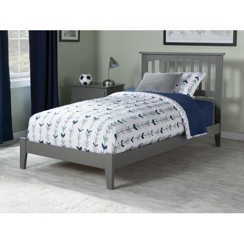 Mission Twin XL Bed in Atlantic Grey