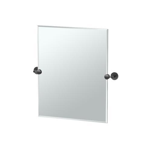 Latitude2 Rectangle Mirror in Matte Black