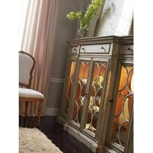 Bahama Sideboard/Curio with Glass Doors