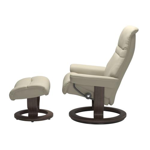 Stressless By Ekornes - Stressless® Sunrise (M) Classic chair with footstool
