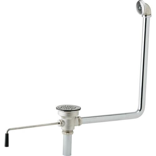 """Elkay - Elkay 3-1/2"""" Drain Fitting Rotary Lever Operated with Overflow"""