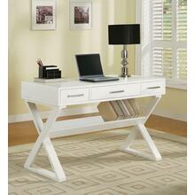 See Details - Casual White Writing Desk
