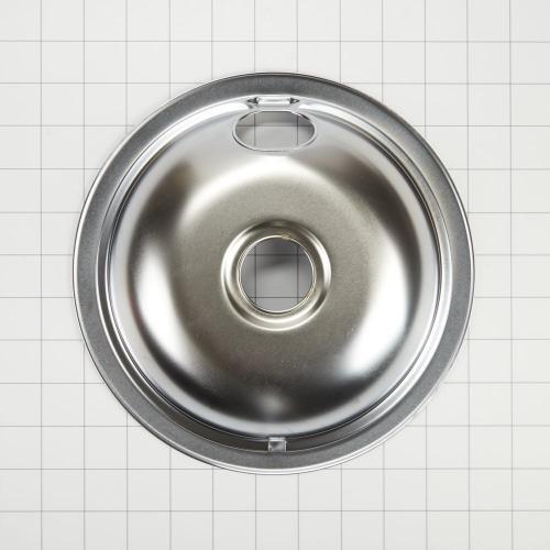 Gallery - Electric Range Round Burner Drip Bowl, Chrome