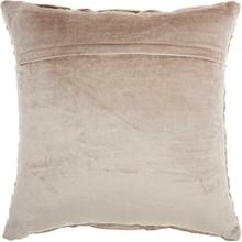 "Life Styles Sc105 Beige 18"" X 18"" Throw Pillow"