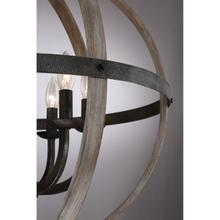 View Product - Fusion Pendant in Rustic Black