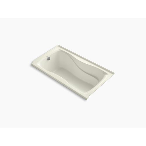 "Biscuit 60"" X 32"" Alcove Bath With Integral Flange and Left-hand Drain"