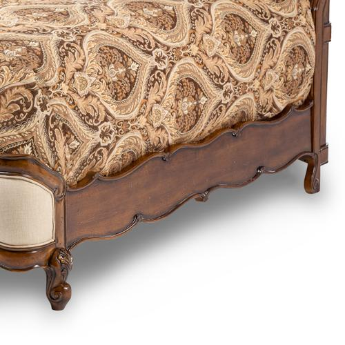 Product Image - Queen Wing Mansion Bed W/fabric Inserts