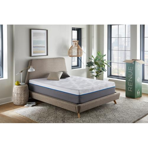 "Renue 12"" Medium Firm Memory Foam Mattress in Box, King"