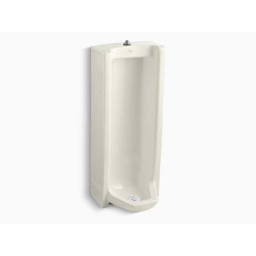 Biscuit Washdown Floor-mount 0.5 Gpf To 1 Gpf Urinal With Top Spud