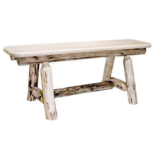 Montana Collection Plank Style Bench