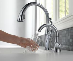 Arctic Stainless Transitional Beverage Faucet Product Image