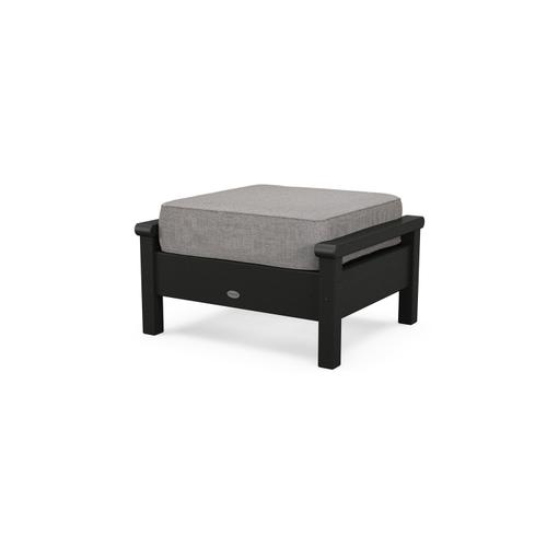 Black & Grey Mist Harbour Deep Seating Ottoman