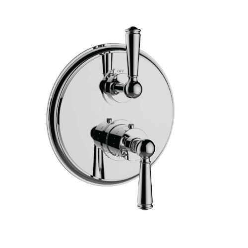 "7095ep-tm - 1/2"" Thermostatic Trim With Volume Control in Matte Black"