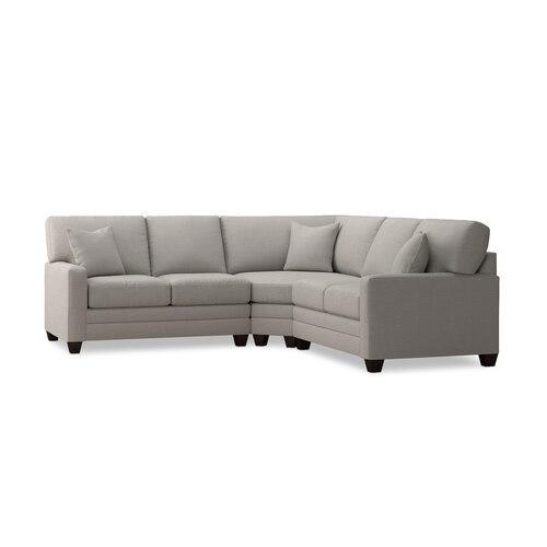 Carolina Thin Track Arm L Sectional